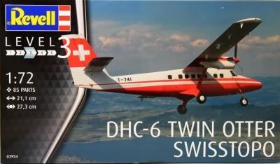 Plastikový model Revell DHC-6 Twin Otter Swisstopo, 03954