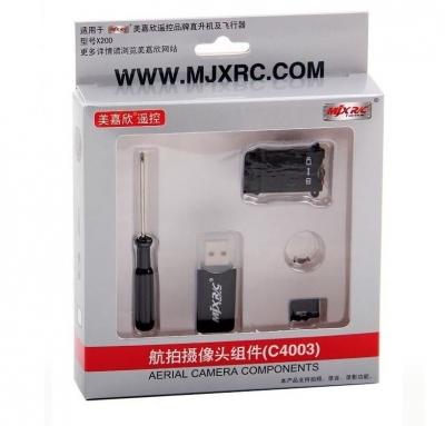 MJX C4003 kamera pre RC vrtulníky T-53, T-42c, X200