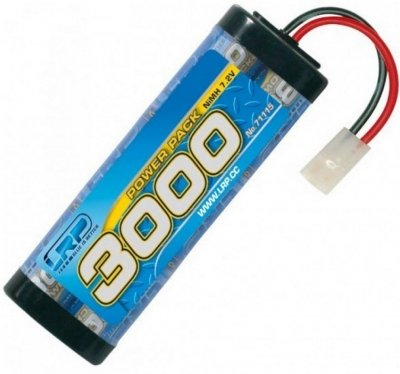 LRP - Power pack 3000 mAh 7.2V NiMH batéria