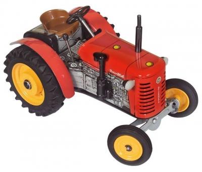 KOVAP Traktor ZETOR 25A červený, hračka