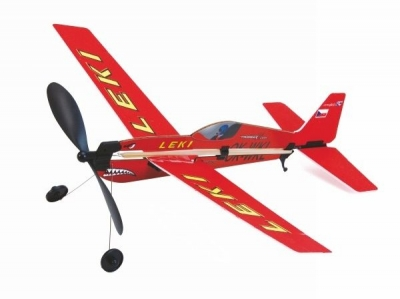 Hádzadlo, lietadlo na gumový pohon EXTRA 330 SC 415mm