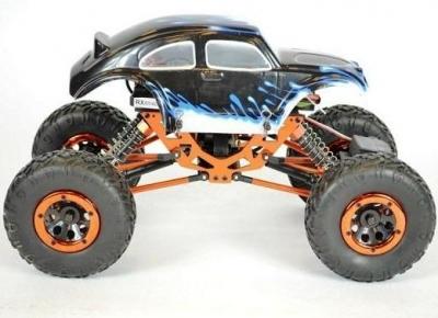 RC auto na ovládanie HSP Kulak Rock Crawler 4WD modré