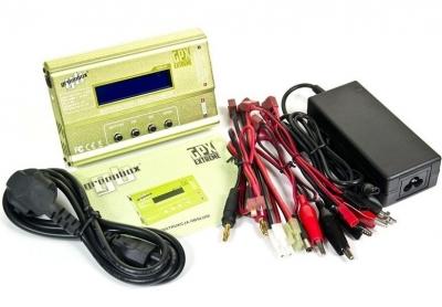 GPX Extreme Greenbox, inteligentná nabíjačka s balancérom a set kablov