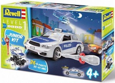 Plastový model na skladanie Revell Police Car Junior Kit 1/20, 00802
