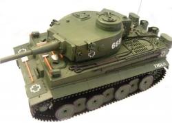 RC Tank na diaľkové ovládanie TIGER ASG airsoft RTR, 1:18
