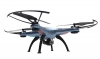 RC dron na ovládanie Syma X5HW, WiFi FPV, kamera HD, 2.4GHz , modrá