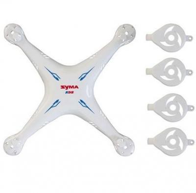 Náhradné Diely Syma X5SC-001, kryt biely