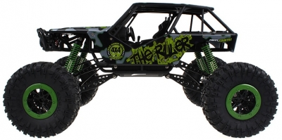RC hračka na diaľkové ovládanie HB: ROCK CRAWLER 4WD, 2.4 GHz, 1:10 zelená