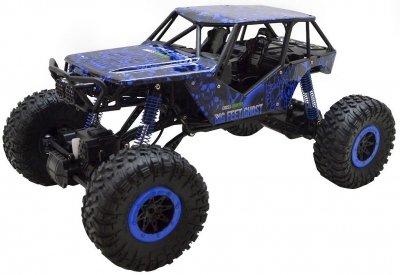 RC hračka na diaľkové ovládanie HB: ROCK CRAWLER 4WD, 2.4 GHz, 1:10 modrá