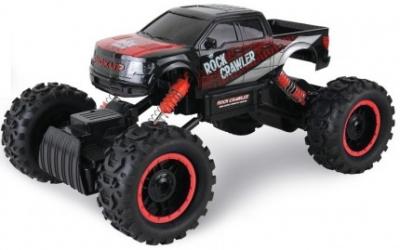 RC hračka na diaľkové ovládanie HB: ROCK CRAWLER 4WD, 2.4 GHz, 1:14 čierno - červená