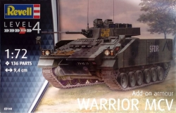 Plastikový model Revell Warrior MCV with Add-on Armour 1/72, 03144