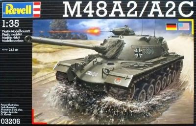 Plastikový model Revell M48 A2/A2C 1/35, 03206