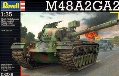 Plastikový model Revell M48 A2GA2 1/35, 03236