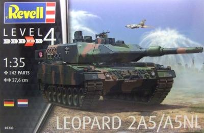 Plastikový model Revell Leopard 2A5 / A5NL 1/35, 03243