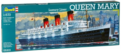Plastový model Revell Queen Mary 1/570, 05203