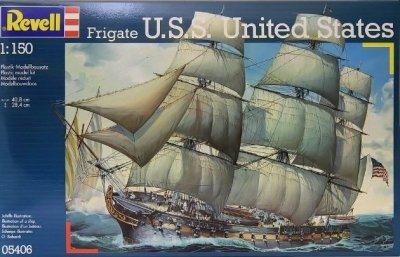 Plastový model Revell U.S.S. United States 1/150, 05406
