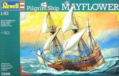 Plastový model Revell Pilgrim Ship MAYFLOWER, 05486