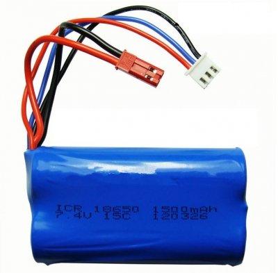 Náhradná batéria MJX F45,T23, T55, 7.4V 1500mAh Lion
