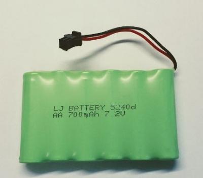 Náhradná batéria NI-CD 700mAh 7,2V
