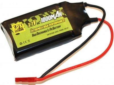 Náhradná batéria GPX Extreme 3.7V Li-Po 1000mAh 30C