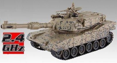 RC Súbojový tank na diaľkové ovládanie American M1A2 1:28 2.4 GHz RTR