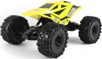 RC hračka na diaľkové ovládani Crawler df-models 4WD Žltá