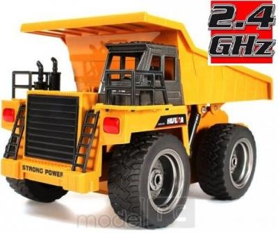 RC banské vyklápacie nákladné auto HUINATOYS Dump Truck 2.4GHz