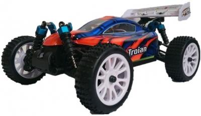 RC auto HSP Troian Buggy 2.4GHz, 4WD 94185, 1:16, RTR, červeno modré