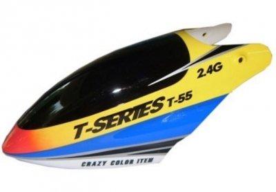 Náhradné Diely MJX T55, T655-011 kabína žltá