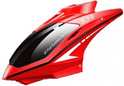 Náhradné Diely Syma S39, S39 Raptor, S39-01A, kabína červená