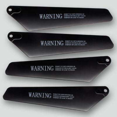 Náhradné Diely Syma S36, S36-03B, rotorové listy 4ks, čierné