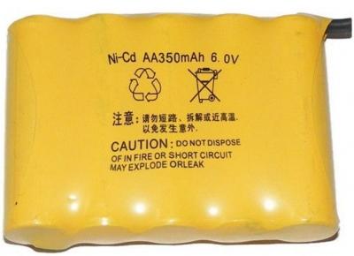 Náhradná batéria, Akumulator NiCd 350mAh 6V