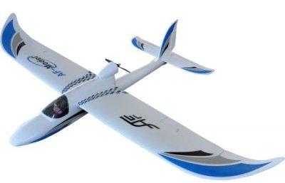 RC lietadlo na diaľkové ovládanie SKY SURFER 1400, RTF, 2,4 GHz modré