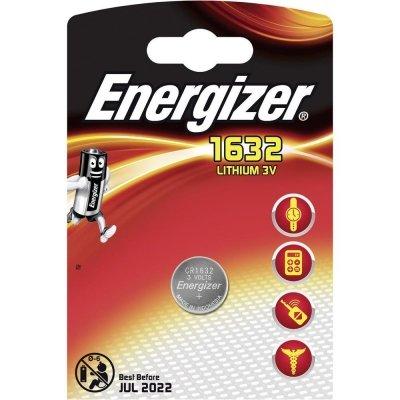 Gombíková batéria Energizer CR1632 Lithium 1632 130 mAh 3V