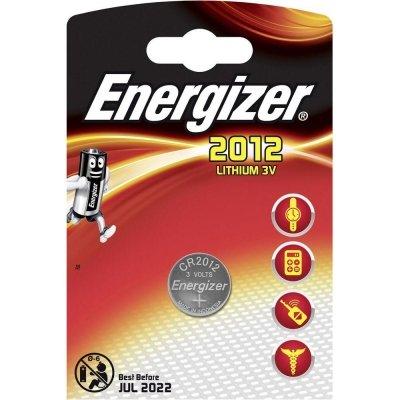 Gombíková batéria Energizer CR2012 Lithium 2012 58mAh 3V