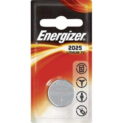 Gombíková batéria Energizer CR2025 Lithium 2025 163mAh 3V
