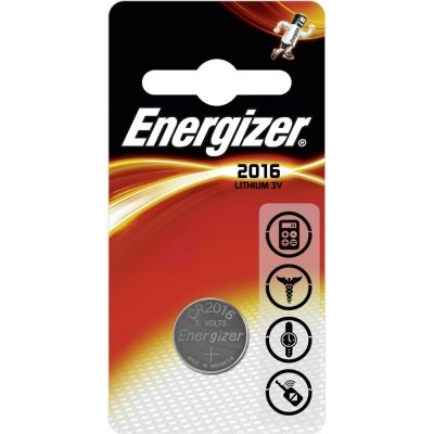 Gombíková batéria Energizer CR2016 Lithium 2016 90mAh 3V