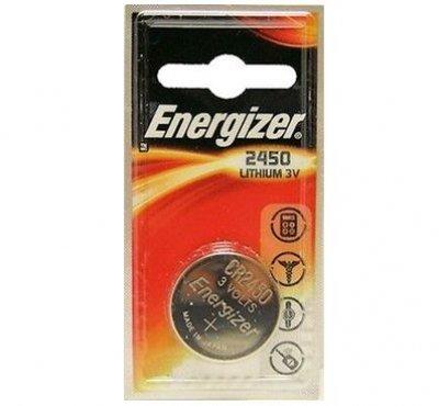Gombíková batéria Energizer CR2450 Lithium 2450 620mAh 3V