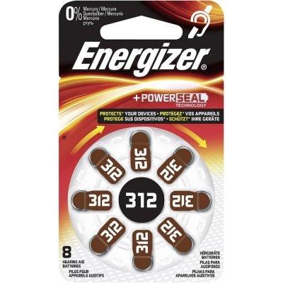 Gombíková batéria Energizer ZA312 Zinc Air 312 160mAh 1,4V 8dB