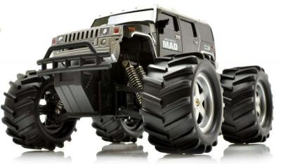 RC hračka na ovládanie Mad Monster Truck 1:16 RTR, čierna