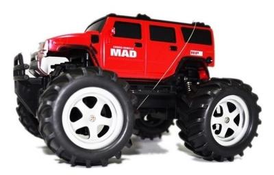 RC hračka na ovládanie Mad Monster Truck 1:16 RTR, červená