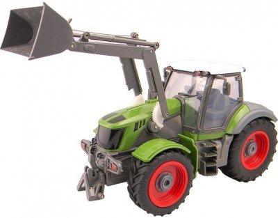 RC hračka na ovládanie Farm Traktor s lyžicou  1:28