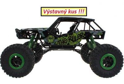 HB: ROCK CRAWLER 4WD, 2.4 GHz, 1:10 zelená, Výstavný kus, 100% funkčný a kompletný