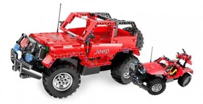 RC stavebnica na diaľkové ovládanie Double Eagle: Jeep Wrangler 2v1 2.4GHz 1:14, C51001W