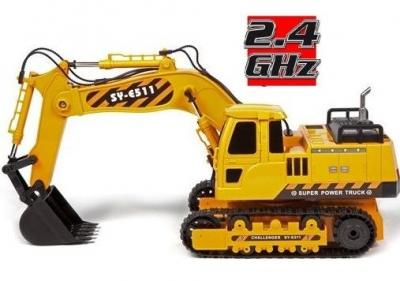 RC hračka na diaľkové ovládanie Double Eagle: RC EXCAVATOR 2.4GHz 1:20