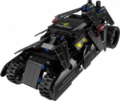 Stavebnica Double Eagle: Fight Car auto Batmana Pull Back, C52005W