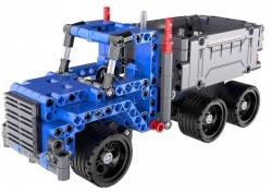 Stavebnica Double Eagle: Dump Truck Nákladné Auto Pull Back, C52011W