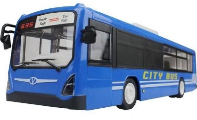 RC Autobus na diaľkové ovládanie, Double Eagle modrý