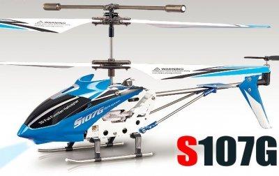 RC vrtuľník na ovládanie Syma S107G, modrý