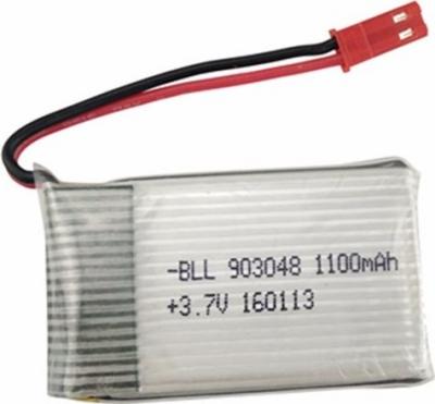 Náhradná batéria Li-Poly 3,7V 1100mAh, JST